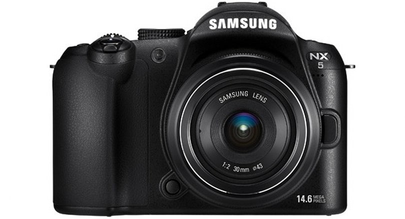 Samsung NX5 becomes official little brother to NX10 hybrid DSLR