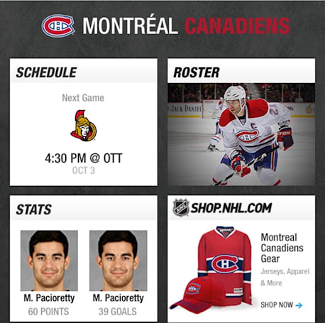 Be prepared for the new NHL season with NHL GameCenter