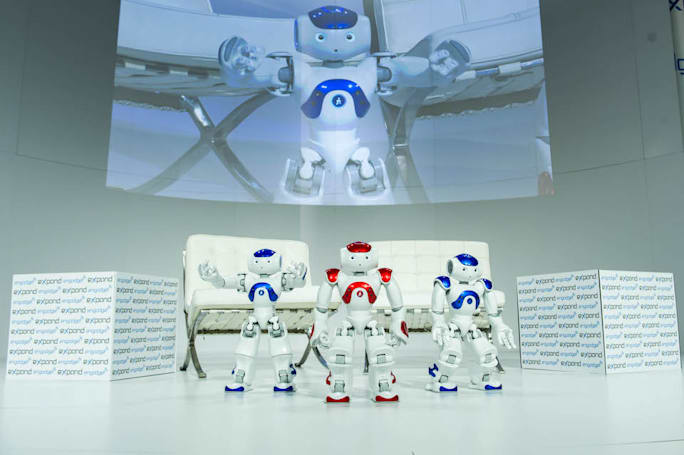 Robots can be used to record repair instructions for future ISS crew