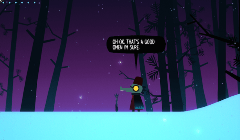 Play through a spoiler-free Night In The Woods ghost story