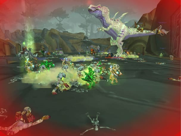Around Azeroth: Jurassic Zombie
