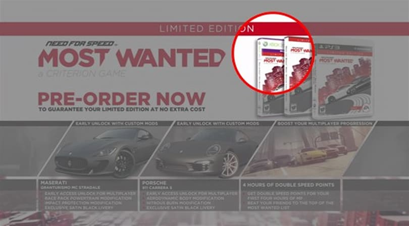Latest Need for Speed: Most Wanted video hints at Kinect support