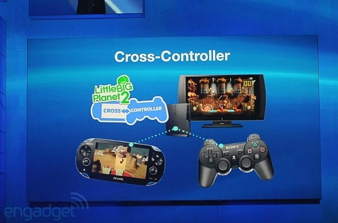 Sony demos Cross-Play, announces Cross-Controller DLC for Vita and PS3