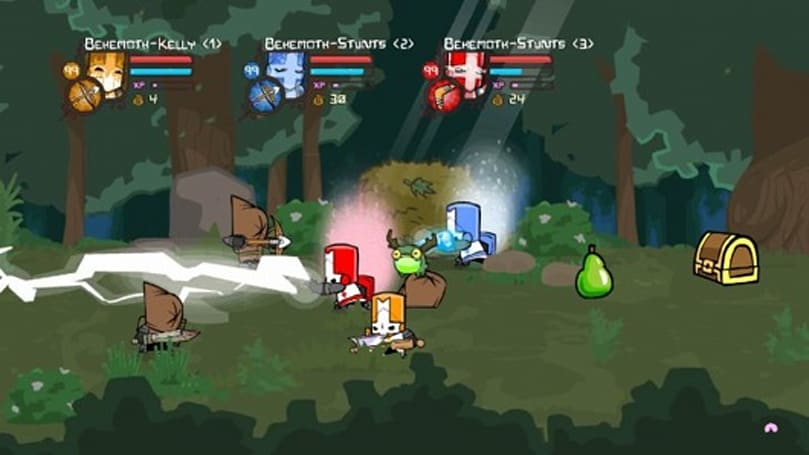 Castle Crashers featured in Japan's PSN 'Western Game Buyer Selection'