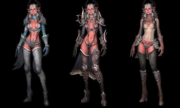 TERAblah shows off Castanic armor gallery