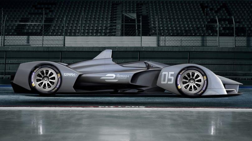 Formula E's next-generation cars get their first concept shots