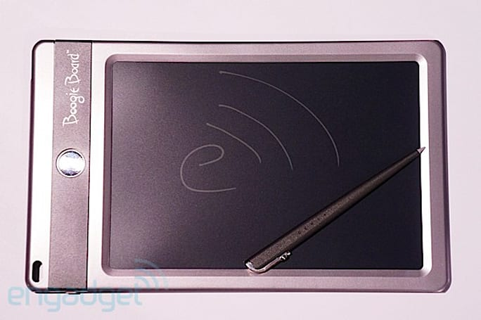 Boogie Board Jot eWriting pad hands-on (video)