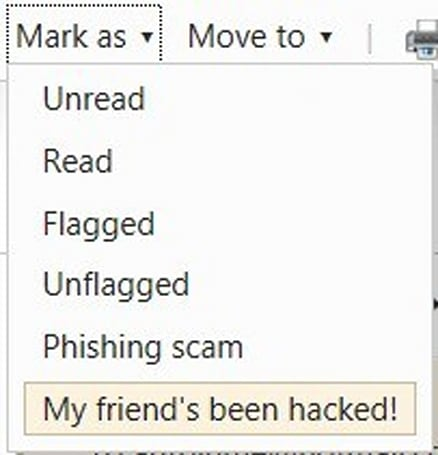 Hotmail adds 'My friend's been hacked!' feature to finger phishers