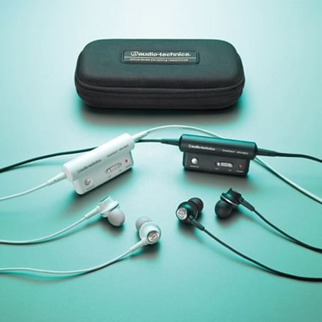 Audio-Technica's newest noise-cancellers, the ATH-ANC3 QuietPoint