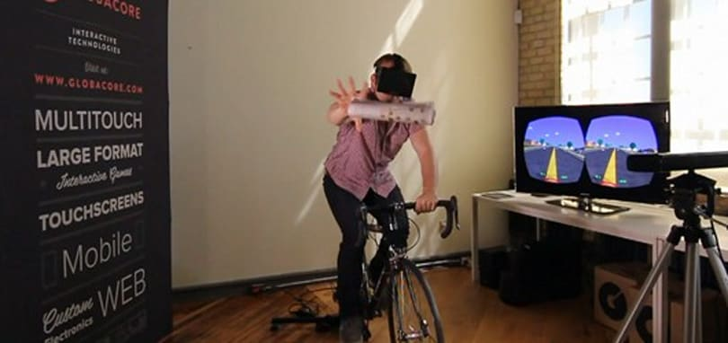 Paperdude VR rides into the neighborhood with Oculus Rift, Kinect