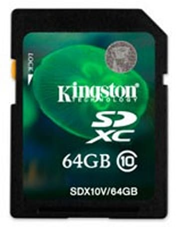 Kingston Digital SDXC cards arrive with lower price, larger capacities