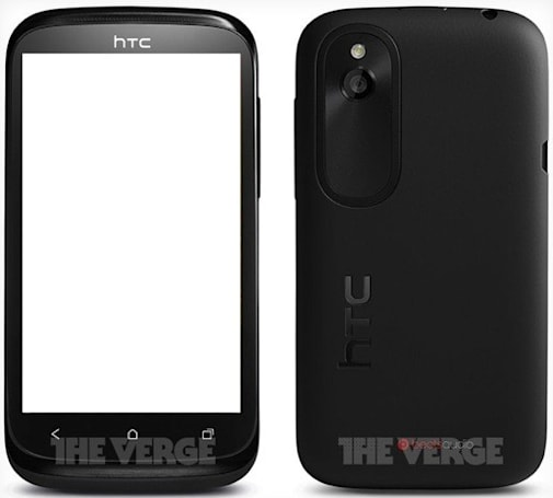 HTC Proto breaks cover, brings the New Desire V out of China