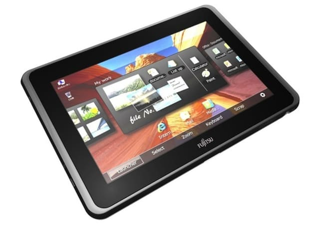 Fujitsu announces Intel Oak Trail-powered Windows 7 slate, Android tablet coming later this year