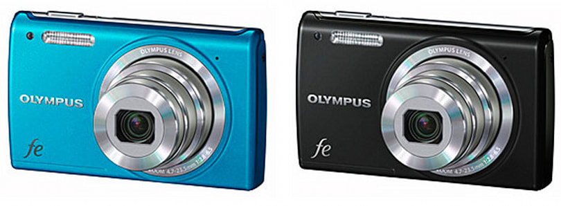 Olympus introduces mju-7050, FE-5050 and FE-4050 point-and-shoot cameras