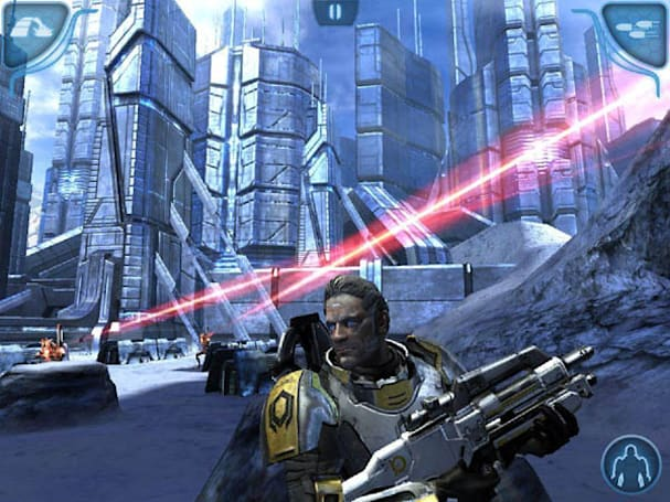Allow these Mass Effect iOS screens to infiltrate your brain meat