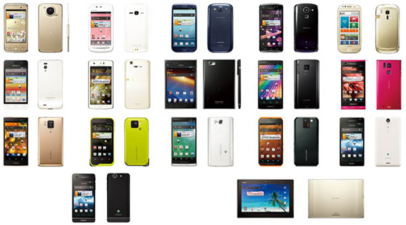 NTT DoCoMo launching 19 new devices this summer, brings Galaxy S III to Japan