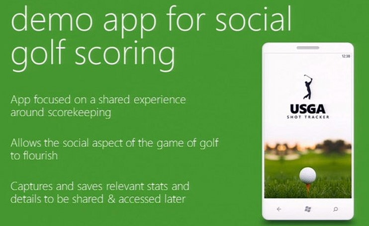 Microsoft previews Windows Phone 7 app design process with a golfing scorekeeper (video)