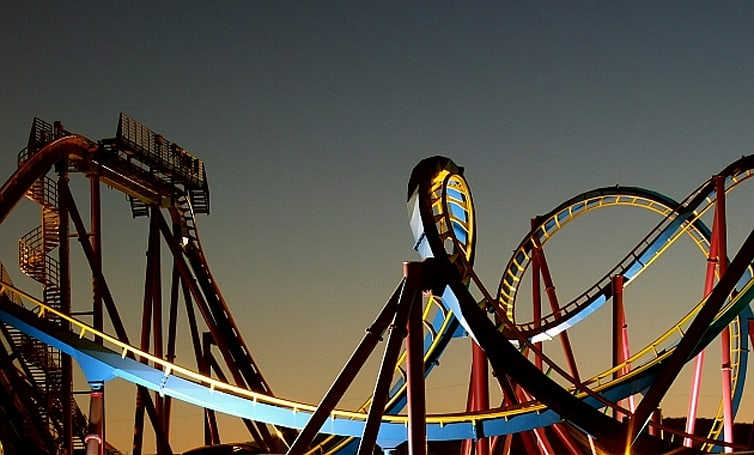 Watch what happens when you pair an Oculus Rift rollercoaster with the real thing