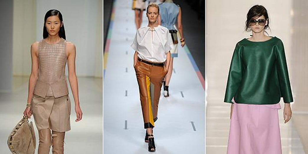 Are You On Board With Designers' Spring Leather Obsession?