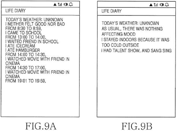 Samsung files patent for auto-generating life diary, Mayans didn't see it coming