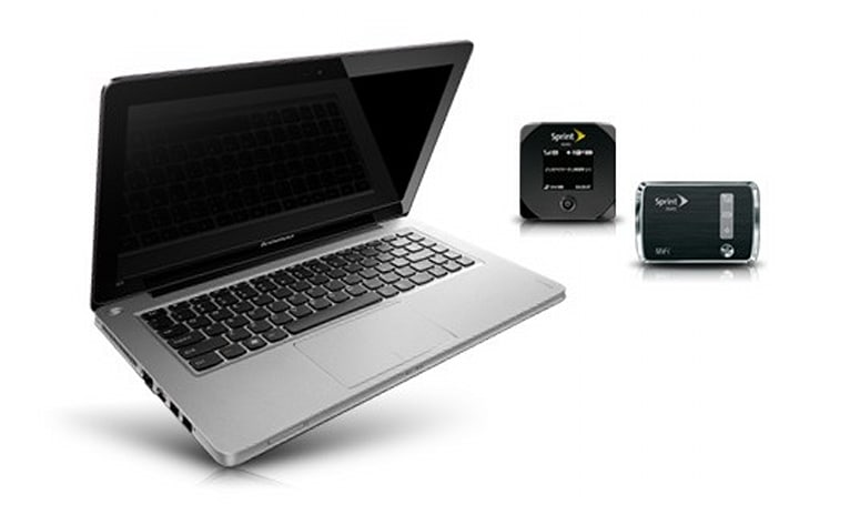Sprint bundles Lenovo IdeaPad U310 and a mobile hotspot: $850 plus a monthly bill (update: $799)