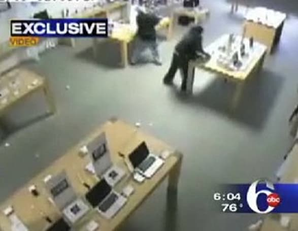 More from the police blotter: Sagemore Apple Store hit by burglars
