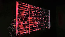 This laser-powered drum machine is a stunning work of art