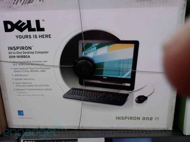 Dell Inspiron One 19 all-in-one turns up at Walmart
