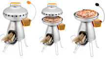BioLite camp stove add-on can cook wood-fired pizza