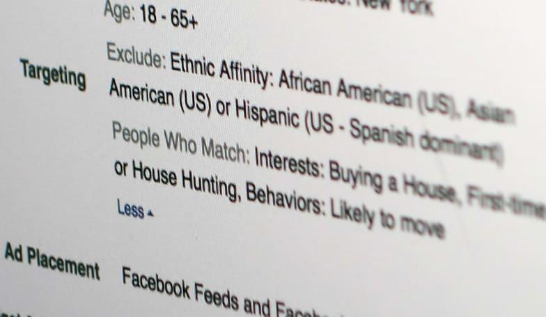 Black Caucus: Facebook ads violate discrimination laws