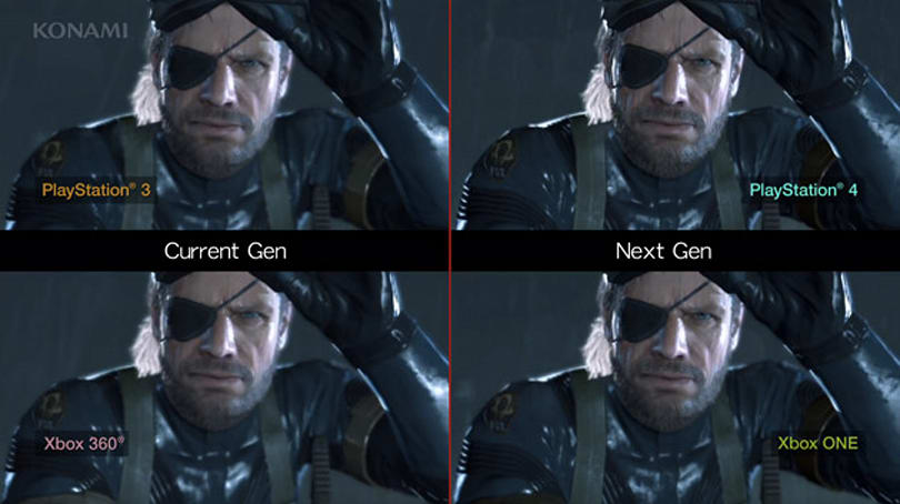 Compare two generations of gaming across four platforms with Metal Gear Solid V: Ground Zeroes
