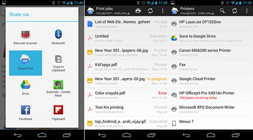 Official Cloud Print app hits Google Play, streamlines your wireless printing needs