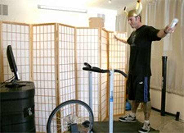 What do a treadmill, bike tire, and Wiimote have in common?