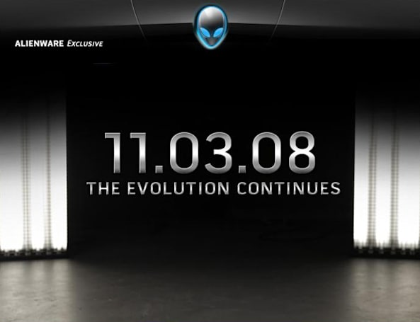 Alienware teases evolutionary product, should unveil today