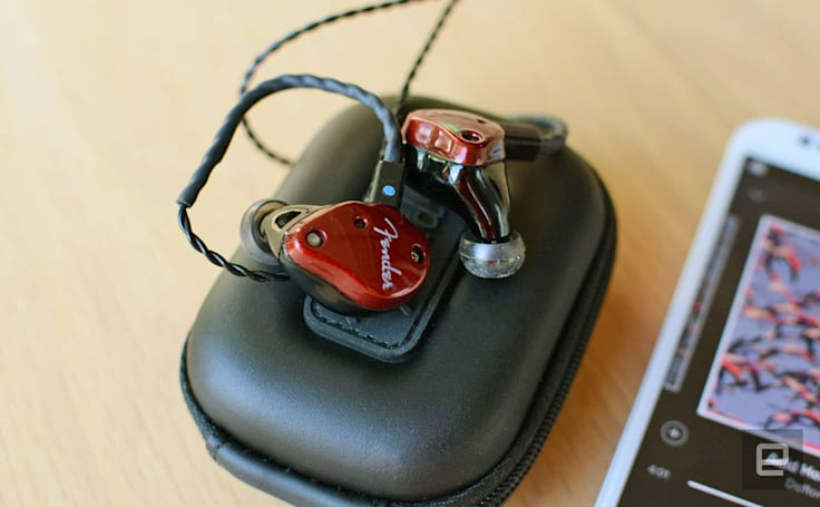 Fender is making headphones the way it builds guitars