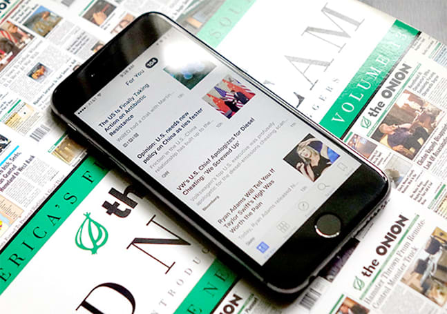 Apple's News app is disabled in China