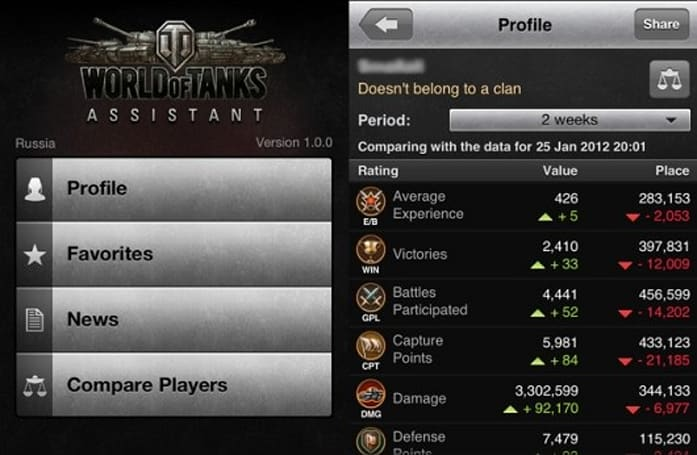World of Tanks iOS app rolls off the factory line