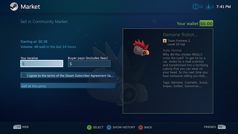Steam's item trading system is convoluted to protect you