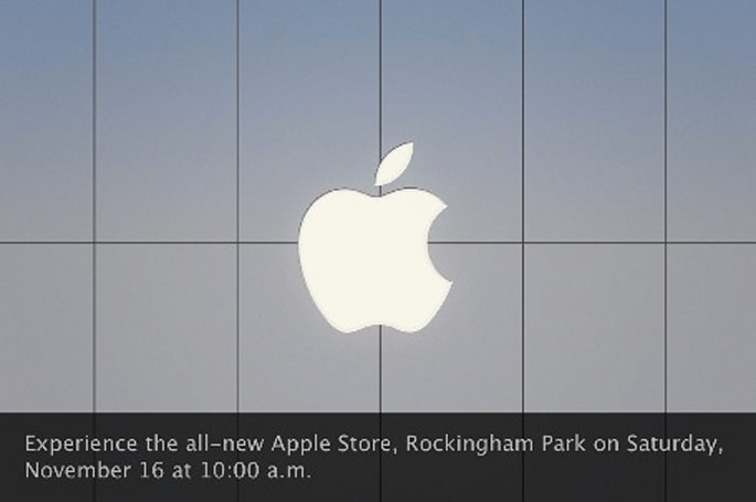 Rockingham Park Apple Store grand re-opening this Saturday