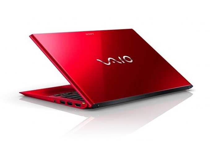 Sony's special edition red laptops coming to the US, prices start at $2,000