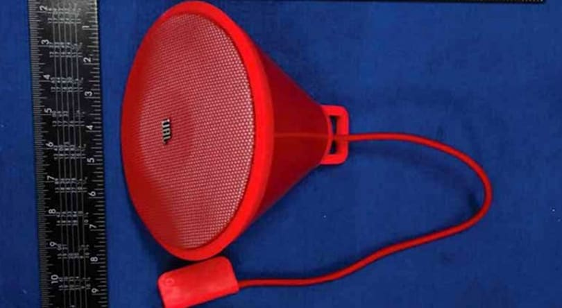JBL Spark Bluetooth speaker uncovered at the FCC with wall mounting, retro looks