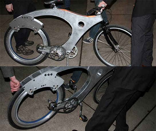Yale students build spokeless bicycle in one semester, now looking for jobs