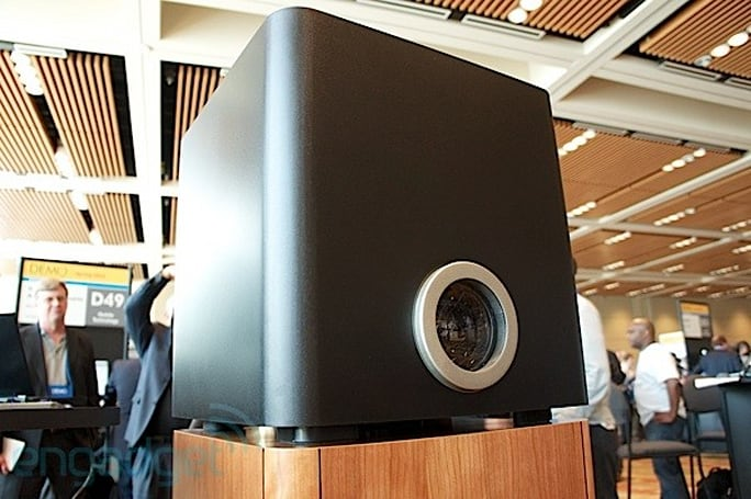Eyes-on Brytewerks Model One high-def projector and HTPC combo