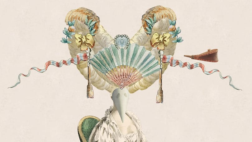 Design the 18th century wig of your dreams
