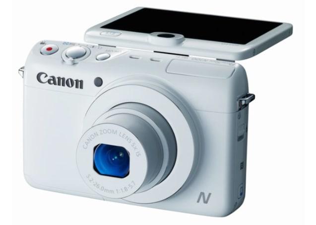 Canon PowerShot N100 sports modified design, WiFi, rear-facing camera