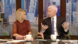 Anderson Cooper Discusses Inauguration Weekend