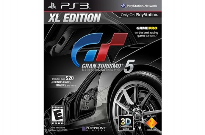 Gran Turismo 5 XL Edition peels out on January 17