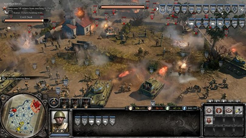 Attend a 'Theatre of War' in Company of Heroes 2
