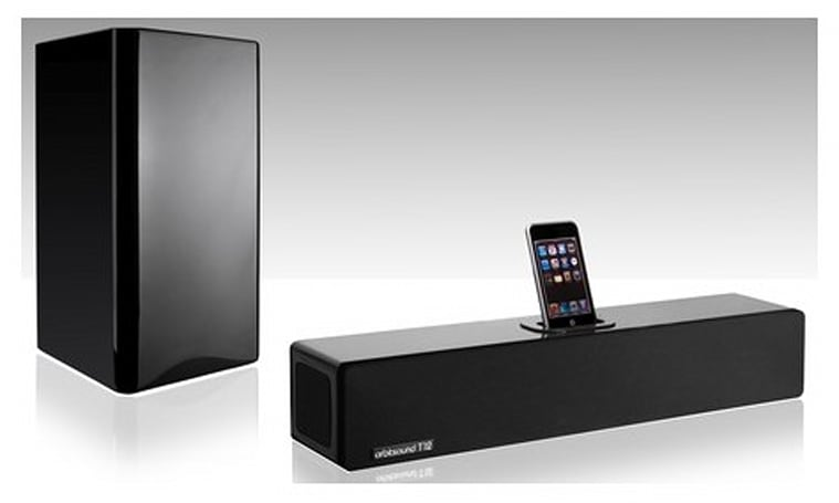 Orbitsound shows off T12 stereo soundbar / subwoofer combo