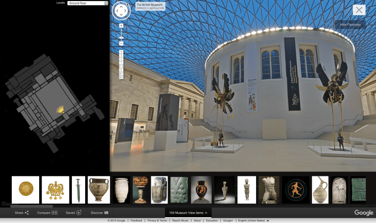 Explore 4,500 British Museum artifacts with Google's help